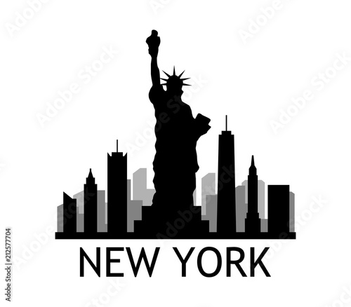 new york skyline - 212577704