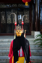 Miao Person Wearing Traditiona...