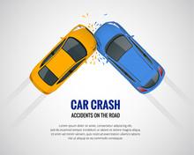 Car Crash, Car Accident Top Vi...