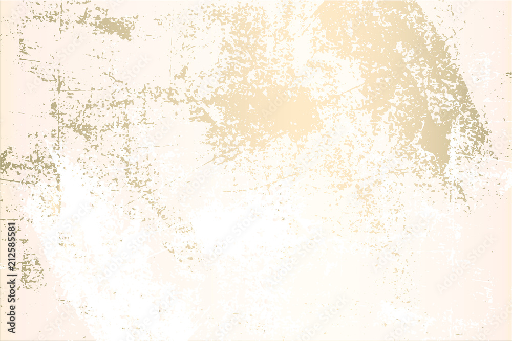 Fototapeta Abstract Marble Trendy Texture in Pastel and Gold colors . Trendy Chic Background made in Vector for wallpaper, canvas, wedding, business cards, advertising, wrapping paper, trendy invitations
