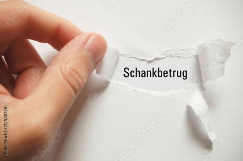 Fotografering  Schankbetrug