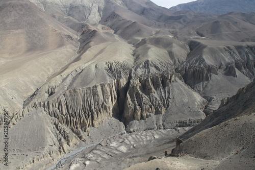 Foto op Plexiglas Donkergrijs Himalayas