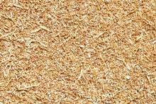 Natural Wood Sawdust Backgroun...