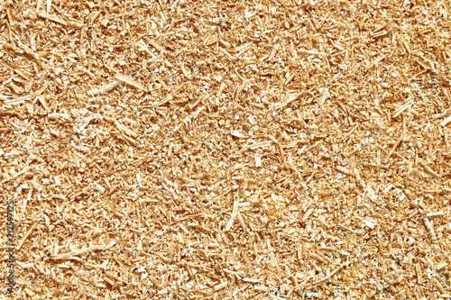 Fotografie, Obraz  Natural wood sawdust background