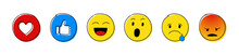 Emoji Reactions - Set Of Diffe...