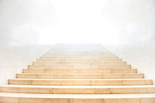 Marble Staircase With Stairs W...