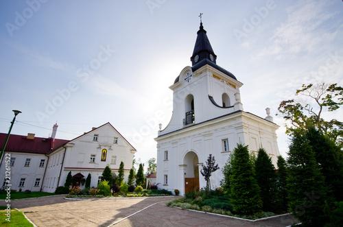 Spoed Foto op Canvas Historisch geb. Old monastery in Suprasl, Poland