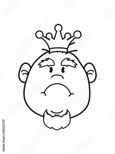 Kopf mann großer Großer Kopf
