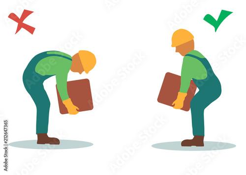 Fotografía  Safe handling and transportation of heavy items