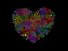 Heart Shape Illustration With ...