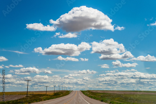 Big sky with clouds