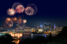 Fireworks Over Pittsburgh For ...