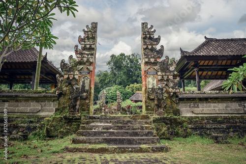 Deurstickers Asia land Pura Luhur Batukau Batukaru Hindu temple