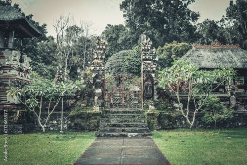 Keuken foto achterwand Asia land Pura Luhur Batukau Batukaru Hindu temple