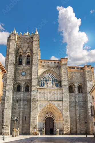 Cathedral of Christ the Savior of Avila, Considered the first Gothic cathedral of Spain
