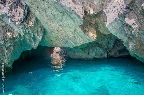 Amalfi coast sea cave grotto