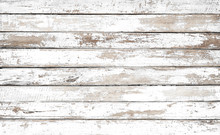 Vintage White Wood Background ...