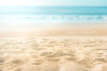 Fototapeta na wymiar beautiful sand beach