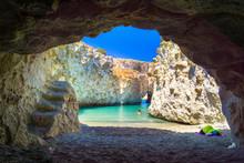 Cave Of Papafragas Milos, Cycl...