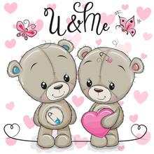 Teddy Boy And Teddy Girl On A ...
