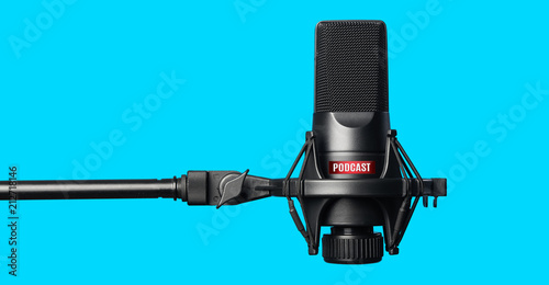 Fotografía Studio microphone for recording podcasts