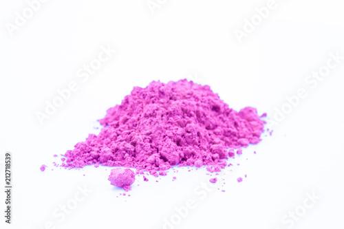 Fotografie, Obraz  small color powder heap pink.