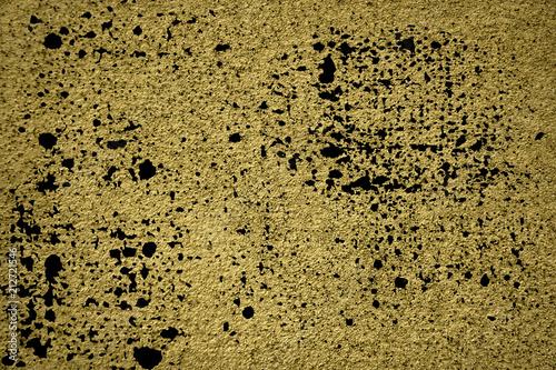 In de dag Stenen Grunge Ultra yellow Concrete cement texture, stone surface, rock background