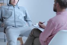 Juvenile Offender Talking To H...