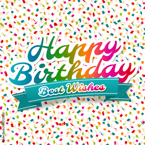 Happy birthday and best wishes greeting card buy this stock happy birthday and best wishes greeting card m4hsunfo