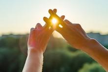 Hands Show Gesture Symbol Hash...