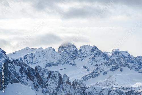 In de dag Alpen Dolomites Mountains