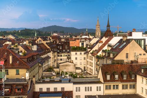 über den Dächern von Bern mit Berner Münster © schame87