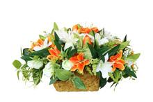 Artificial Flower In Vase Stra...