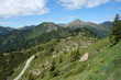Lagorai mountain range in the eastern Alps in Trentino, Italy