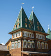 canvas print picture Wooden princely palace in Moscow Kolomenskoye