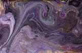 Marmur streszczenie tło akrylowe. Marmurkowe grafiki tekstury. Agatowy wzór tętnienia. Złoty proszek - 212757138