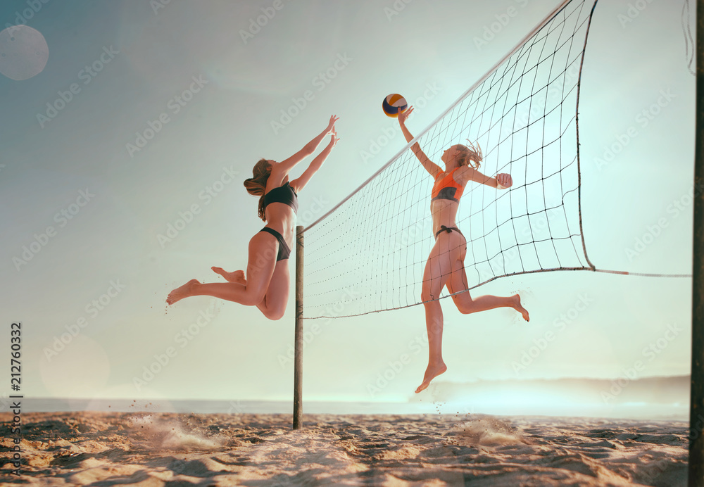 Fotografiet, Poster Beach volleyball på Europosters.se