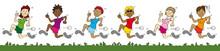 Laufsport Gruppe Frauen - Cart...