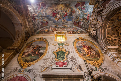 Cathedral of Acireale, sicily, Italy Canvas Print