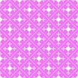 canvas print picture - Pink geometric seamless pattern