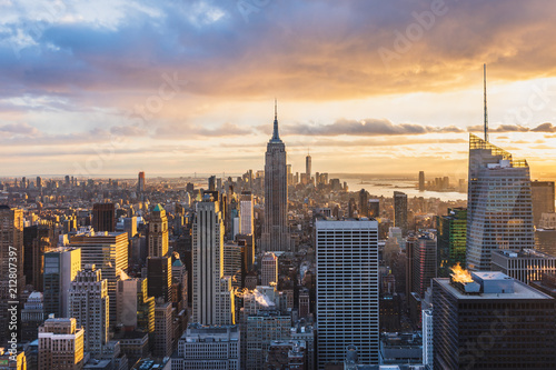 Poster New York The Top