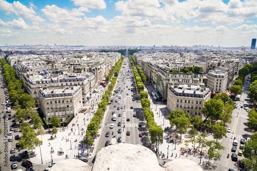 Papiers peints Paris Champs Elysees