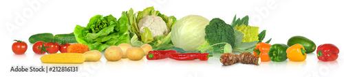 In de dag Verse groenten Gemüse 319