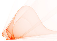 Abstract Red Transparent Dynam...