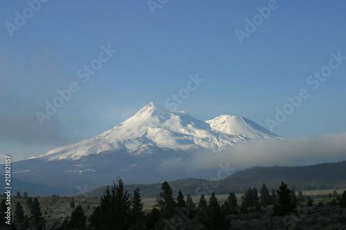 Printed kitchen splashbacks Light blue Mount Shasta Wilderness, California, USA