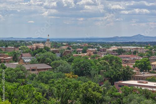 Fototapeta premium Scape miasta Santa Fe Nowy Meksyk
