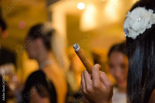Fotografiet  Fumer le cigare