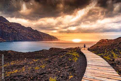 Papiers peints Cappuccino Tenerife paradise
