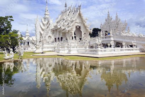Foto  Chiang Rai, Thailand - White Temple - Wat Rong Khun