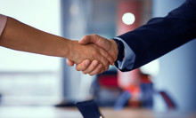 Business Partners Handshaking....